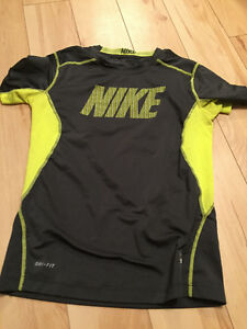 Under Armour and Nike Shirts for Girls - about Size 12-14