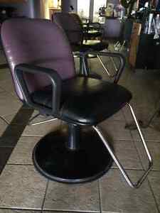BEAUTIFUL SALON CHAIRS IN ABSOLUTELY GREAT CONDITION!