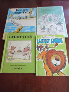 4 Vintage titles - Benjy's boat trip, Gertie & Gus, Lucky Lion..