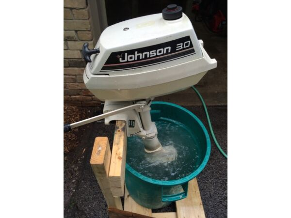 1990 Johnson 3 hp