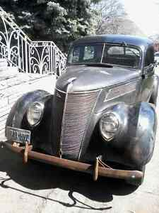 37 ford Tudor original patina barn find