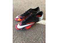 CR7 Nike Mercurial football boots 8.5
