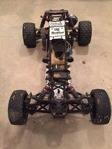 Baja 5b lots of upgrades  RC traxxas losi hpi