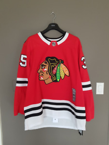 Chicago Blackhawks Adidas Red Authentic Jersey