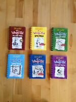 Diary of a wimpy kid 6 books