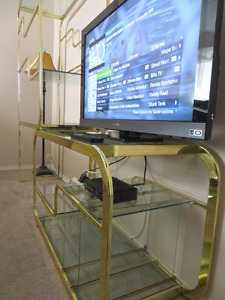 TV Stand and Shelving