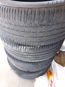 4 Bridgestone Dueler summer tires 265/50 R19