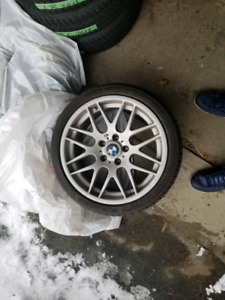 Bmw m sport staggered wheel setup mint condition