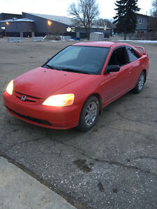 2003 Honda Civic 4 cylinder Coupe (2 door)