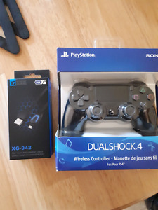 Ps4 controller with charging cable