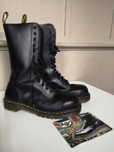 Dr. Martens Air Wair Vintage steel toed 14 hole 8 M,  9.5-10 F