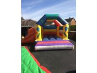 Selection of bouncy castle ,slides & inflatable games
