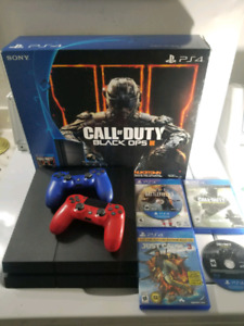 Ps4 500GB & extras