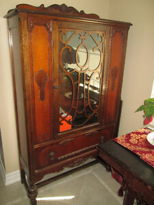Antique Hutch made by Krug Bros.
