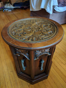 Gorgeous antique side table