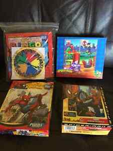 SPIDER-MAN PUZZLES AND GAMES Kingston Kingston Area image 1