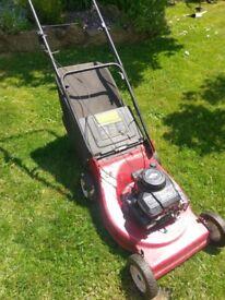 Yard king petrol lawnmower