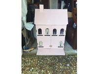 Dolls house. Handmade