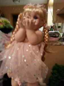 Porcelain Certified Collectable Baby Doll