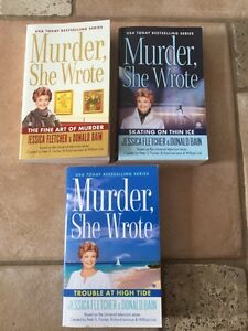 MURDER SHE WROTE-based on the television series