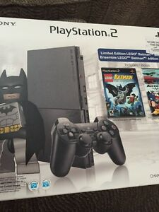 PS2 CONSOLE SEALED LEGO BATMAN BUNDLE MISB RARE