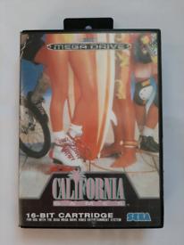 California Games Video Game for Sega Mega Drive Console