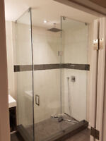 ⭐ CUSTOM SHOWER GLASS DOORS, GLASS RAILINGS AND MORE ⭐