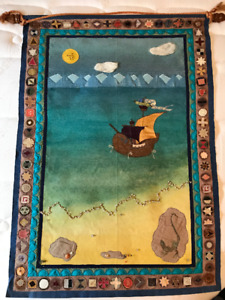 Whimsical Children's Wall Hanging