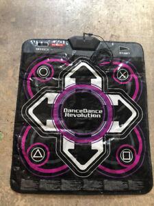 DANCE DANCE REVOLUTION CONTROLLER MAT PS2 OR 3 $20