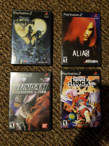 CIB Black Label PS2 Games