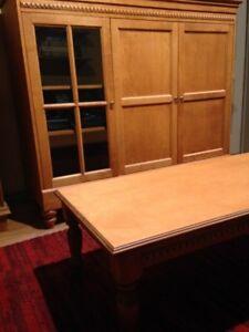 Meuble télé et 2 tables assorties