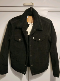 Levi's Sherpa Trucker Corduroy Jacket - Small