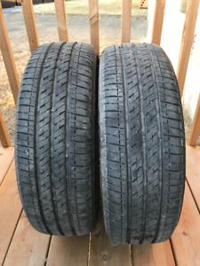 2 pneus Bridgestone Ecopia 422 Plus 185x65 R15 - Toutes Saisons