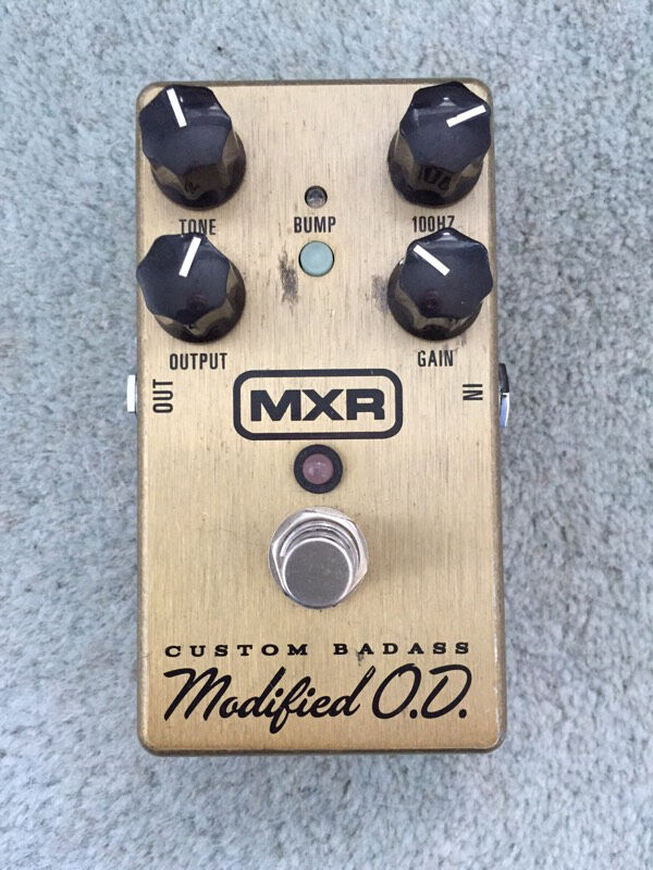 Mxr super badass modified overdrive for sale