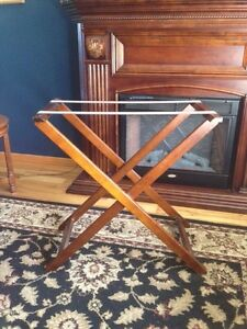Solid wood Bombay & Co Butler Tray Table London Ontario image 3