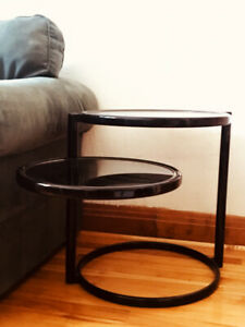 Table basse ronde Mid Century moderne