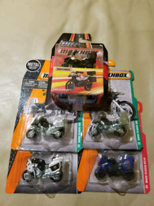 5 x MatchBox BMW motorcycle for sell