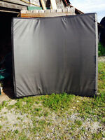 Tonneau cover for 6 ' pick up box