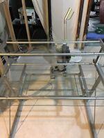 Glass Computer Desk $50 OBO