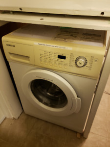 Samsung Washer and Kenmore Dryer White color