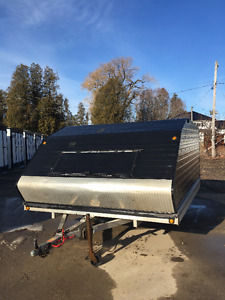 2008 SNOPRO 10' ENCLOSED SNOWMOBILE TRAILER
