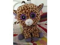 MASSIVE beanie boos TY!! Giraffe! NEW