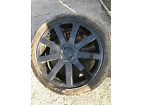 "Wheels to suit VW T4 / T5 19"" Black"