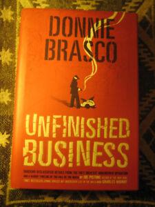 "[NEW] ""DONNIE BRASCO:UNFINISHED BUSINESS"" BY JOE PISTONE (HC)"