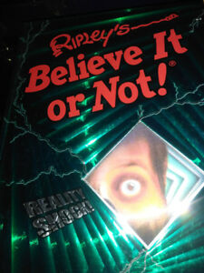 Large Hardcover RIPLEY'S BELIEVE IT OR NOT...*REALITY SHOCK*
