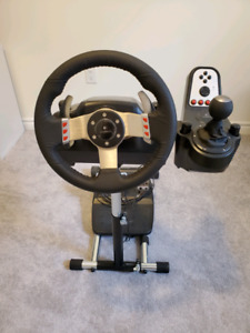 Logitech G27 with Wheel Stand Pro