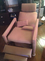You cannot decline this recliner!