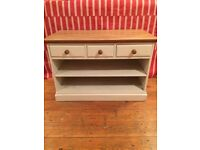 Solid pine TVs unit / sideboard