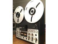 Tandberg TD20A 4 motor reel to reel tape recorder