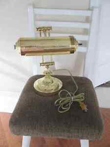 Piano Lamp-Polished Brass